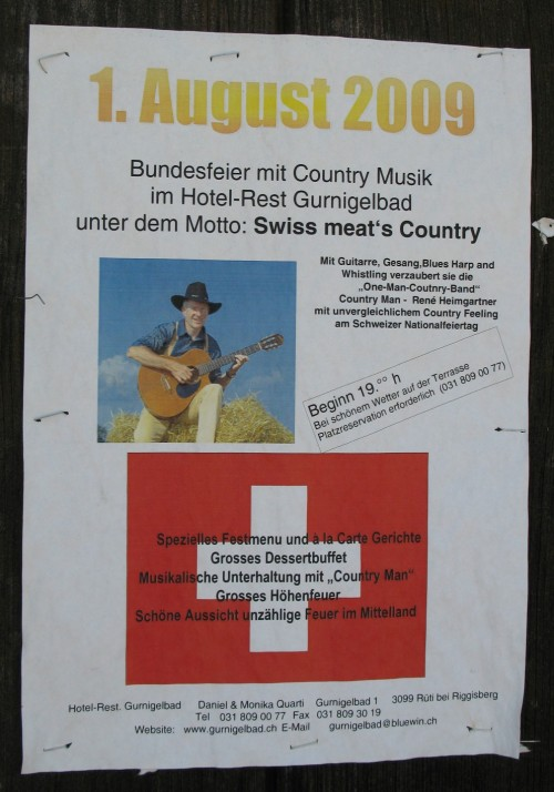 "Swiss ""meat's"" country."
